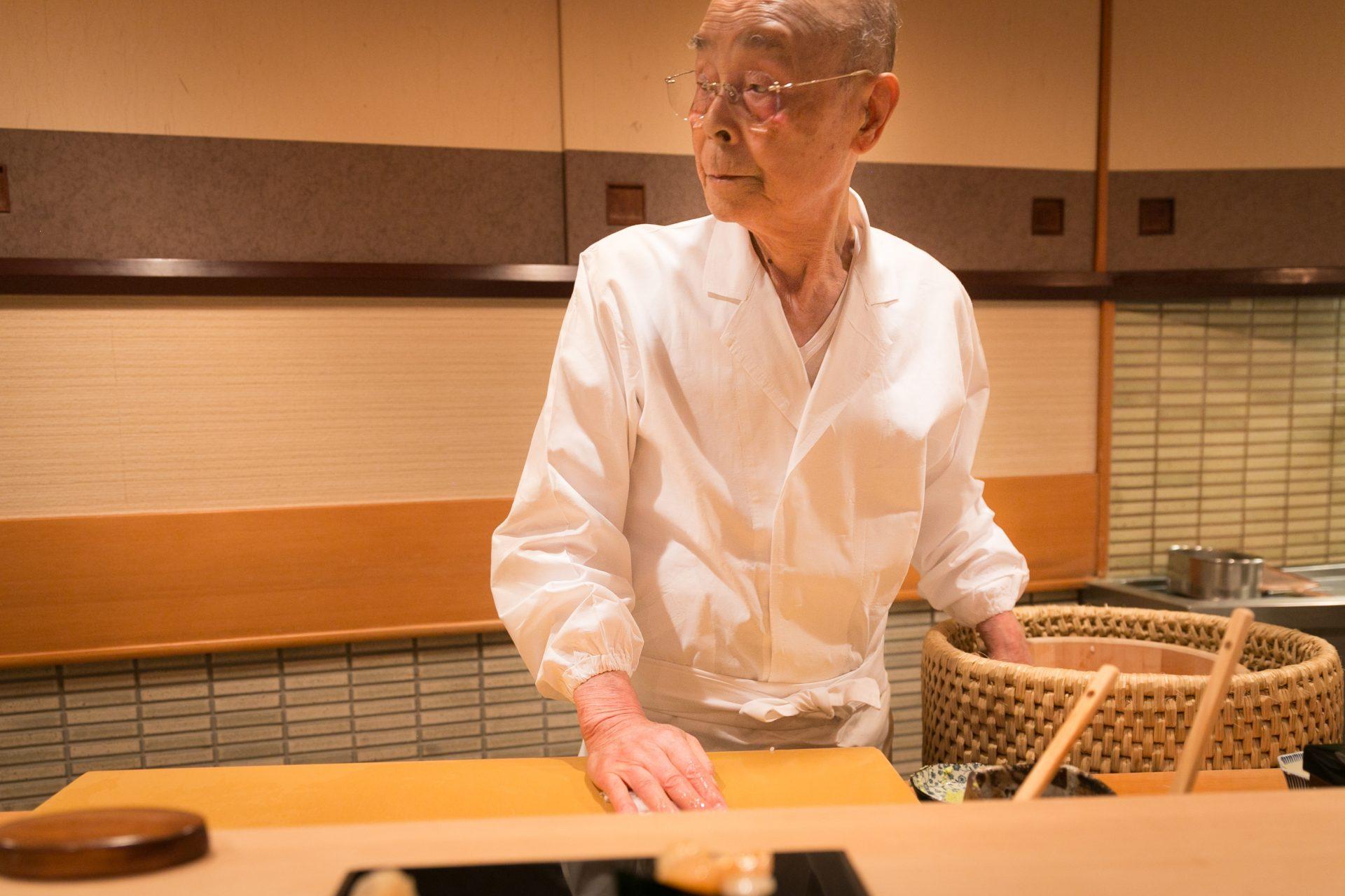 "The Sushi Master ""Jiro Ono"""